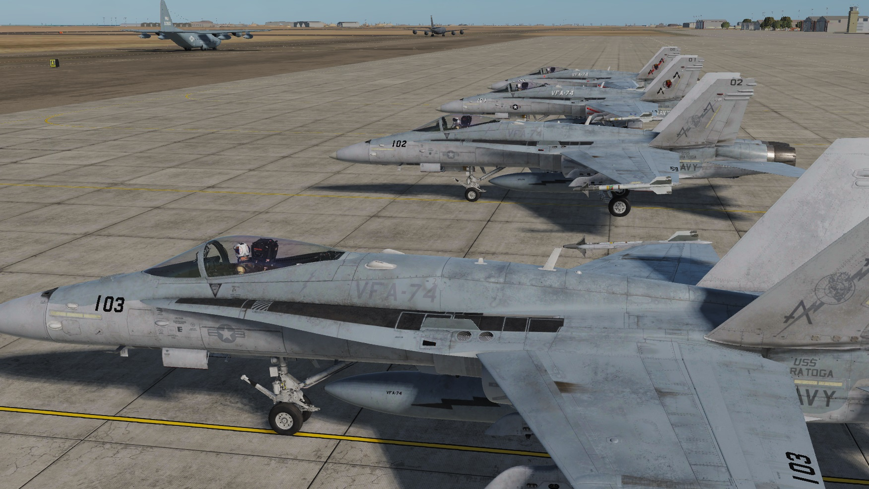 F/A-18C VFA-74 Be-Devilers (Fictional)