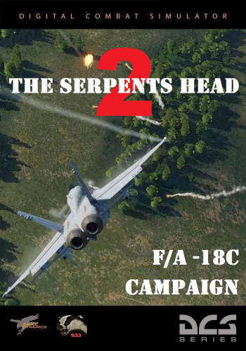 Кампания DCS: F/A-18C Hornet - The Serpent's Head 2