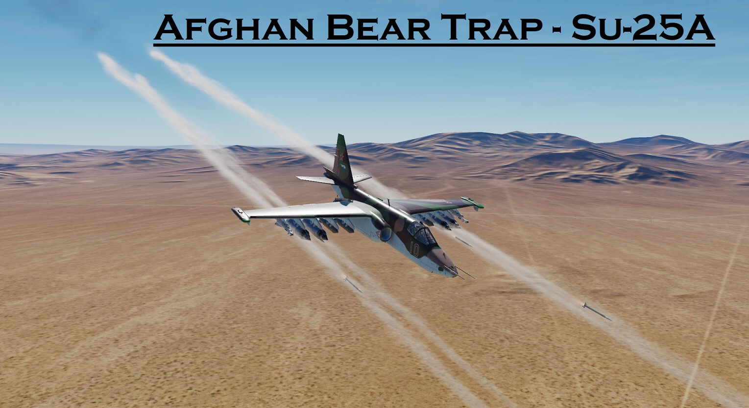 Afghan Bear Trap - Su-25A using Mbot Dynamic Campaign Engine