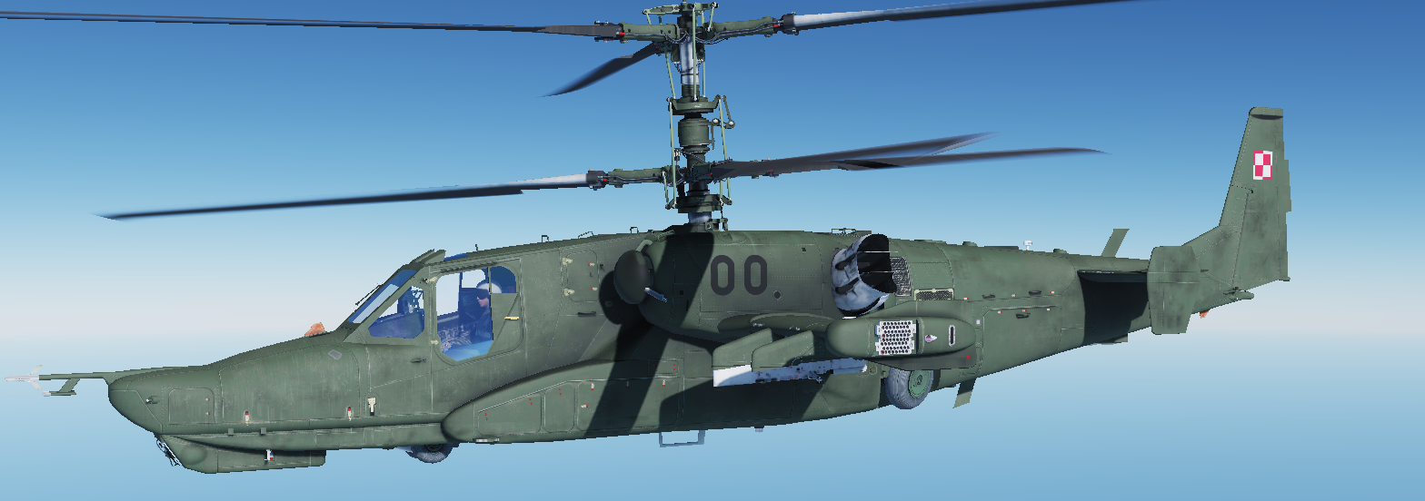 Poland Skin Pack for Ka-50