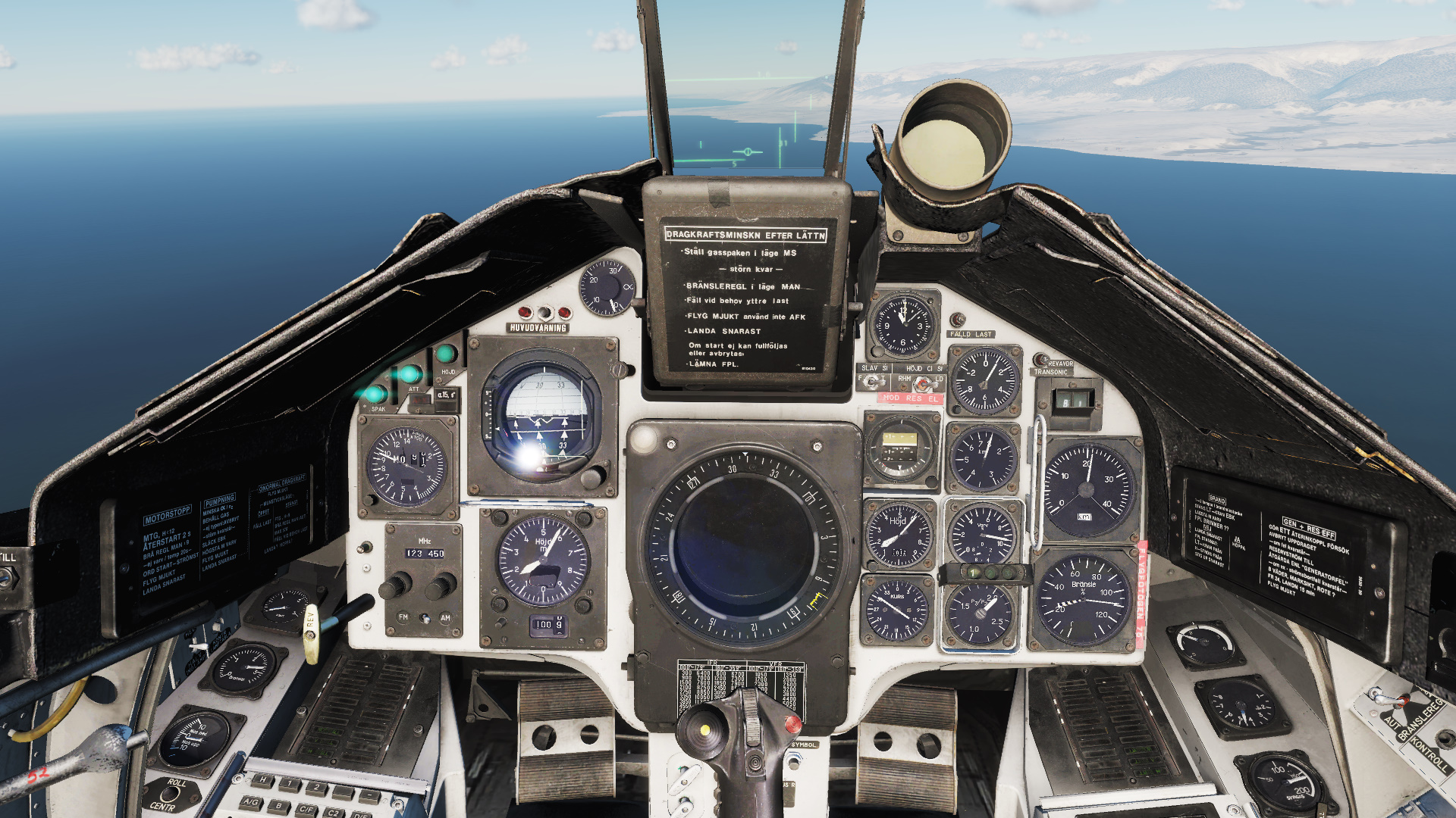 DCS AJS37 Viggen Swedish Cockpit HD Textures without Mipmaps