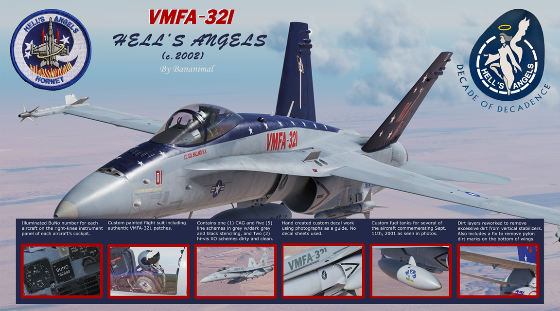 VMFA-321 Hell's Angels Pack 2 of 3 (c.2002)