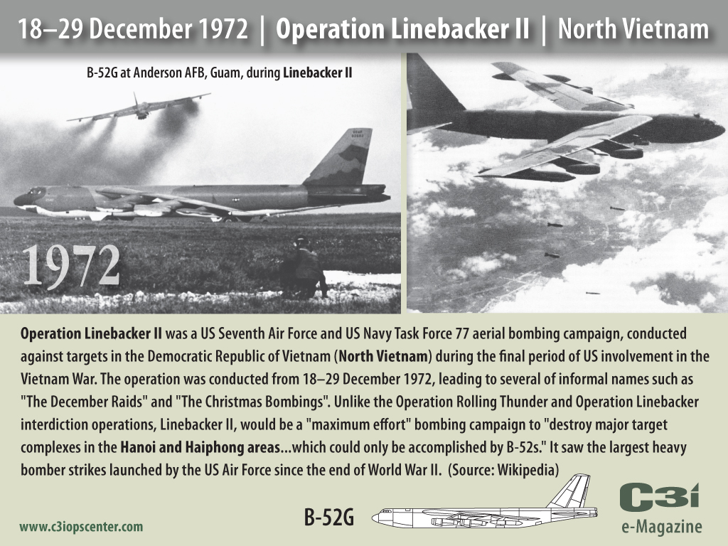Operation Linebacker 1972 Guam Wiring Diagrams Rewiring En Elektrisk Guitar Del Det Eberniecom Christmas Had The Communists Running For Rh Babalublog Com Ii 11 Day War