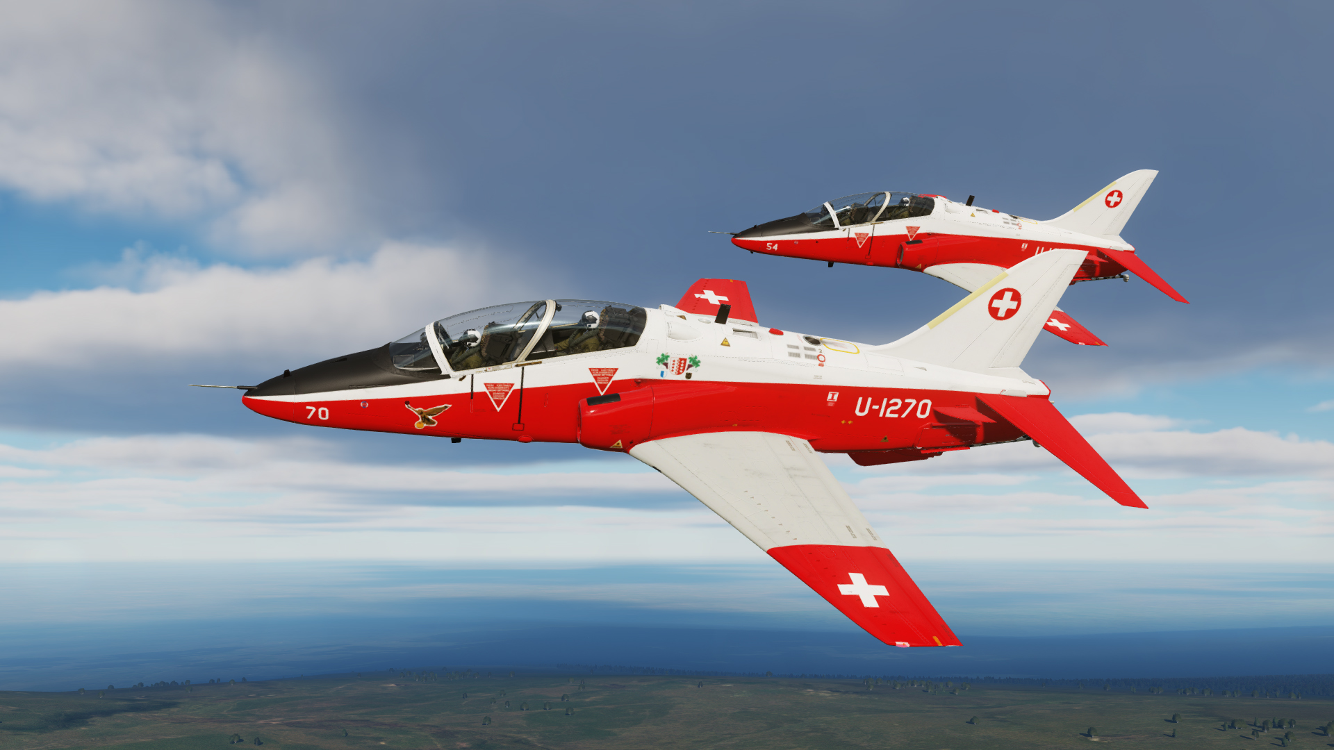 "T-45 ""Hawk"" Swiss Air Force skin part 1"