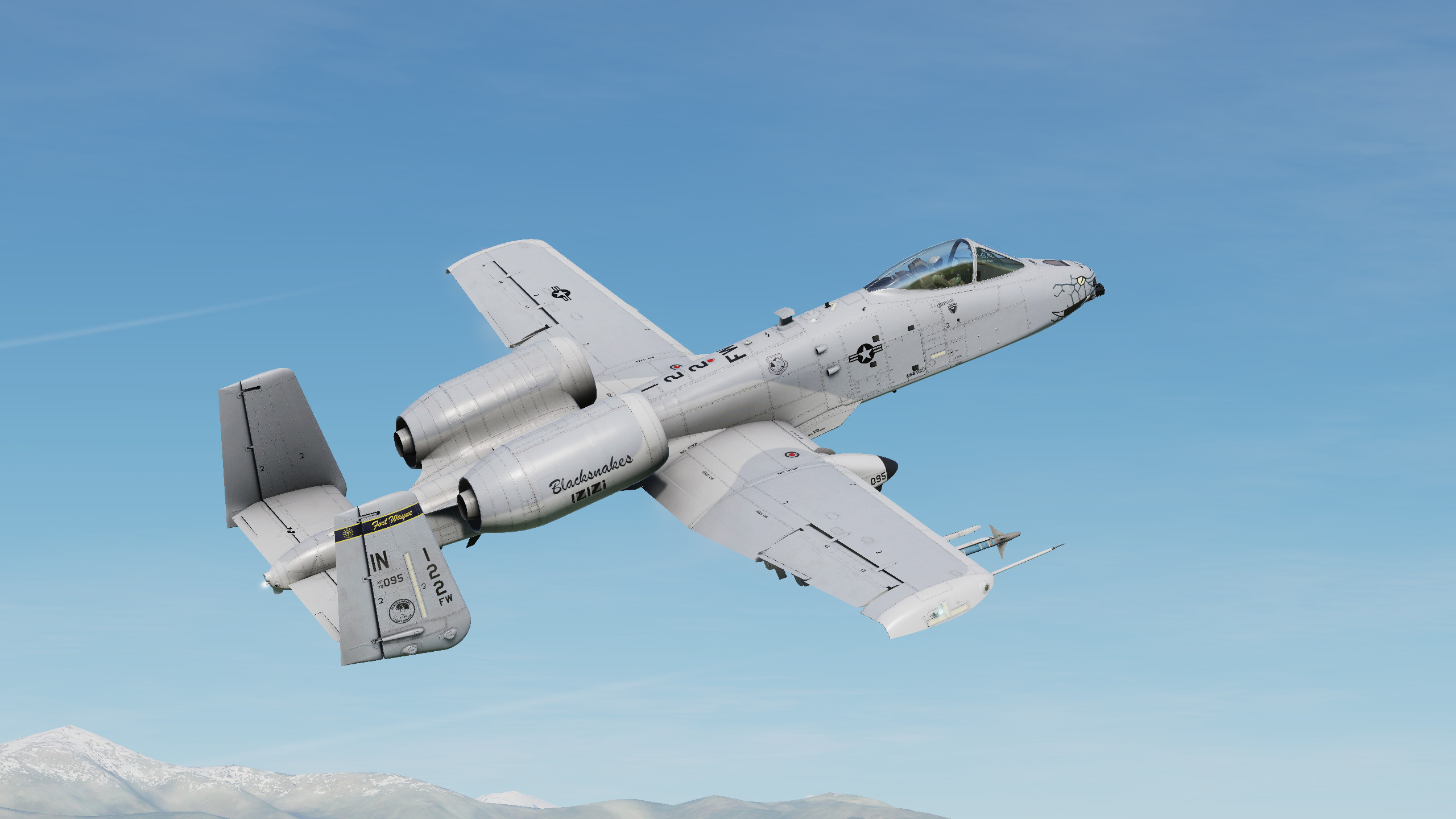 A-10C II 163rd Fighter Squadron Texture Pack V1.1
