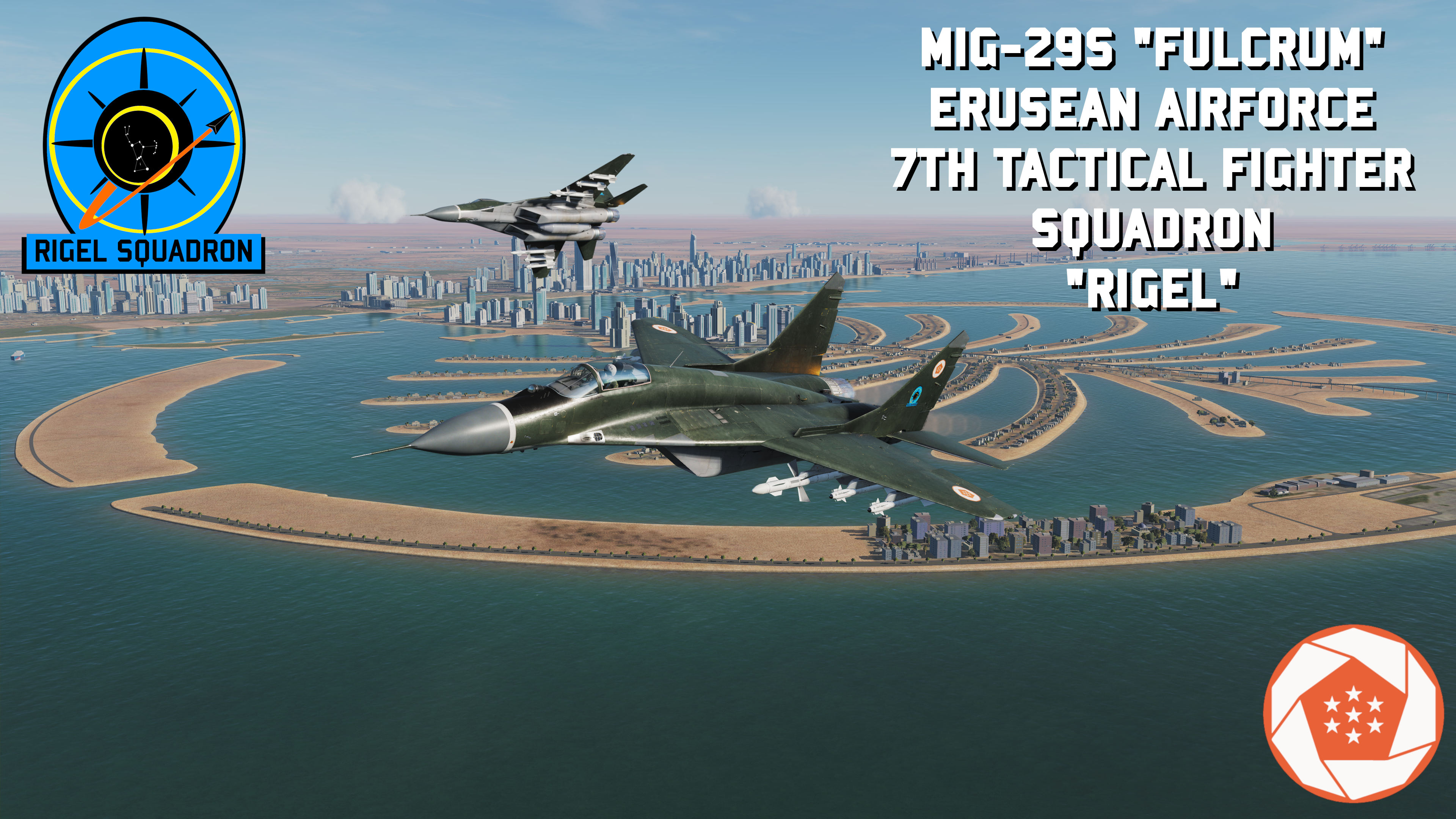 Mig-29S 7th Tactical Fighter Squadron (ACE COMBAT)