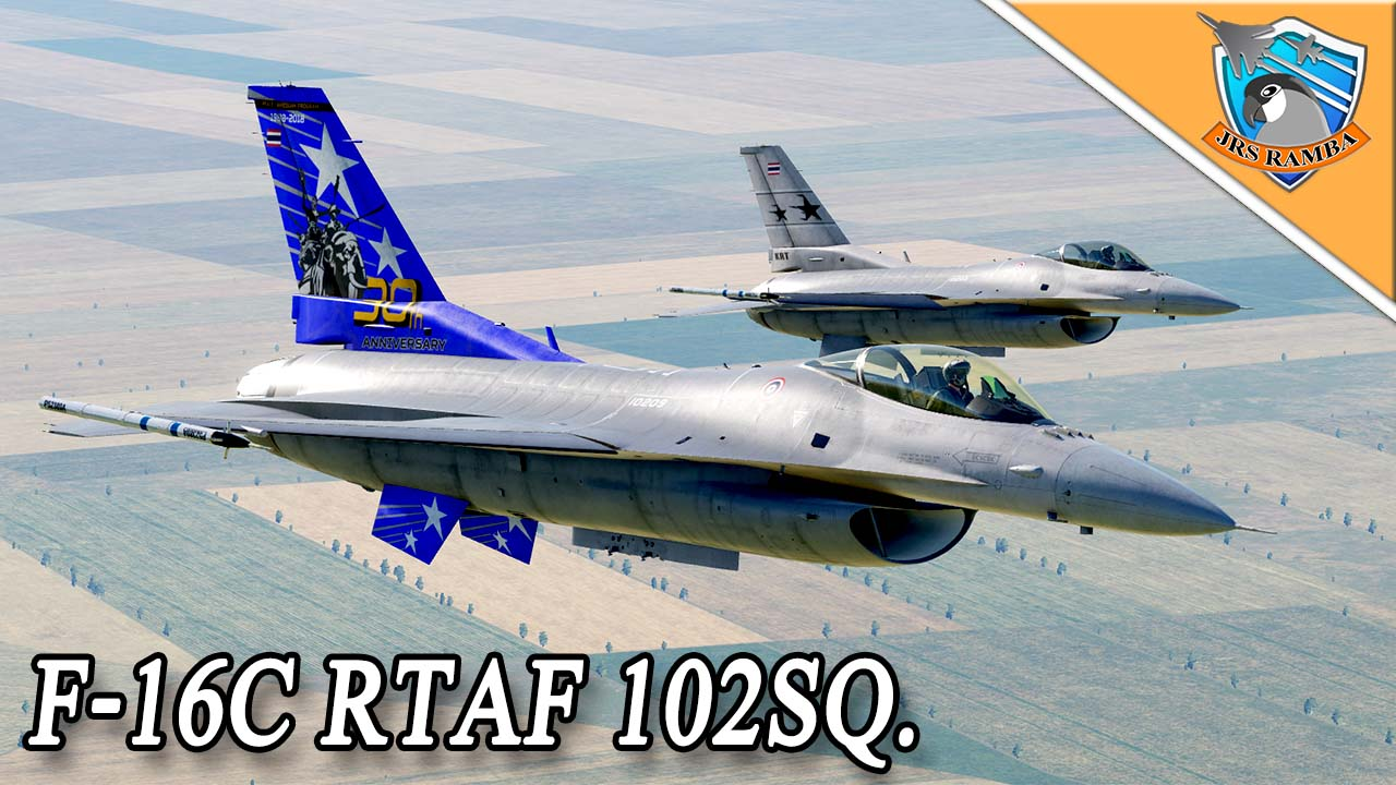 F-16C Royal Thai Air Force 102 SQ. And 30Th. v1.02