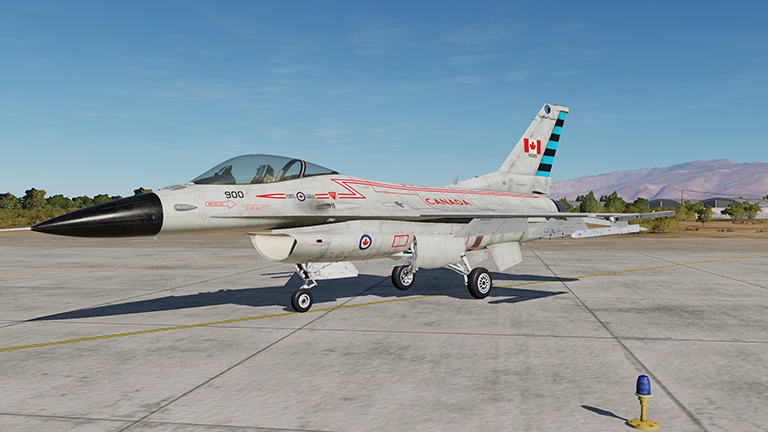 Fictional 80's RCAF 409 SQN Voodoo Livery