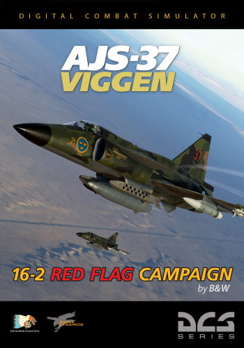 AJS-37 Viggen: 16-2 Red-Flag-Kampagne
