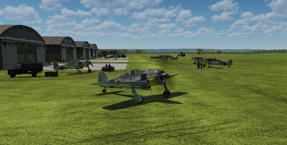 Chaos in Normandy - Goat's Game - Mission Fw190A-8 - v2