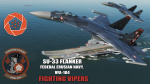 "Ace Combat - Federal Erusian Navy VFA-104 ""Fighting Vipers"" SU-33 Flanker"