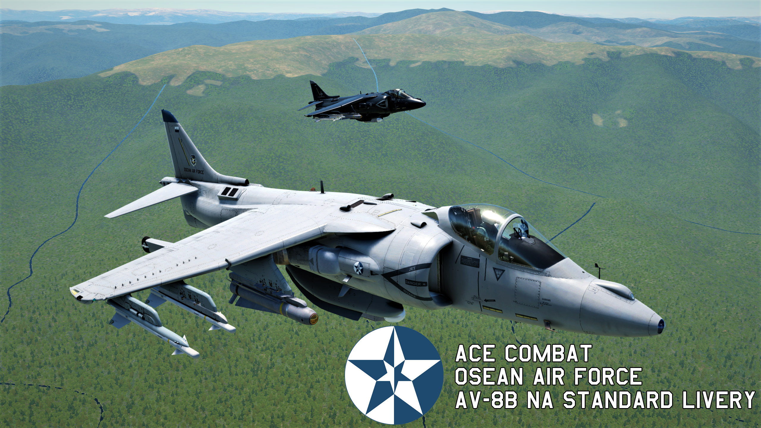 Av-8B - Ace Combat - Osean Air Force Standard Livery