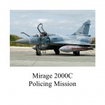 Mirage 2000C Air Police Mission