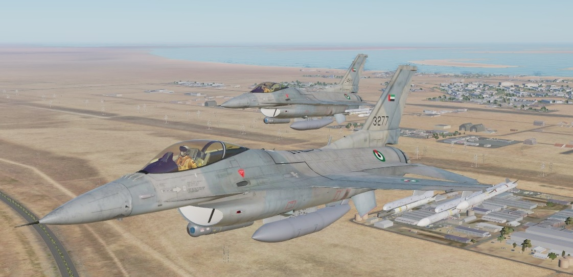 F-16 Air Forces - United Arab Emirates