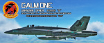 "Ace Combat - Ustio Air Force 66th Air Force Unit ""Galm"" F-18C skin"