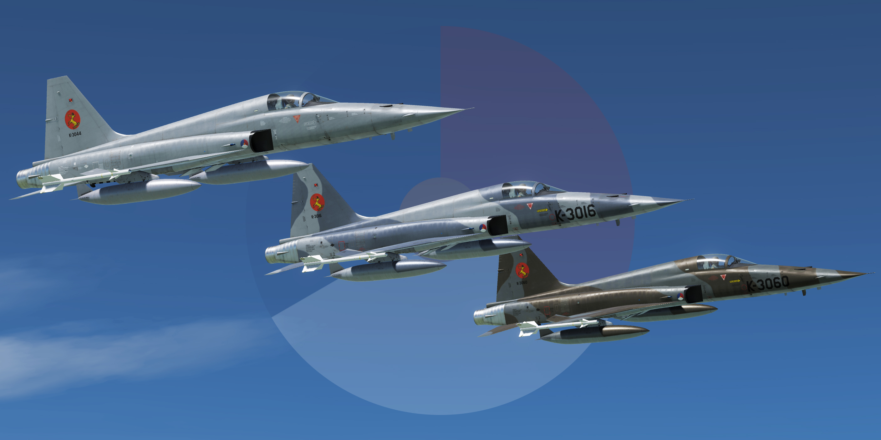 Dutch F-5E-3 Livery Pack, 314 Squadron by Mispunt