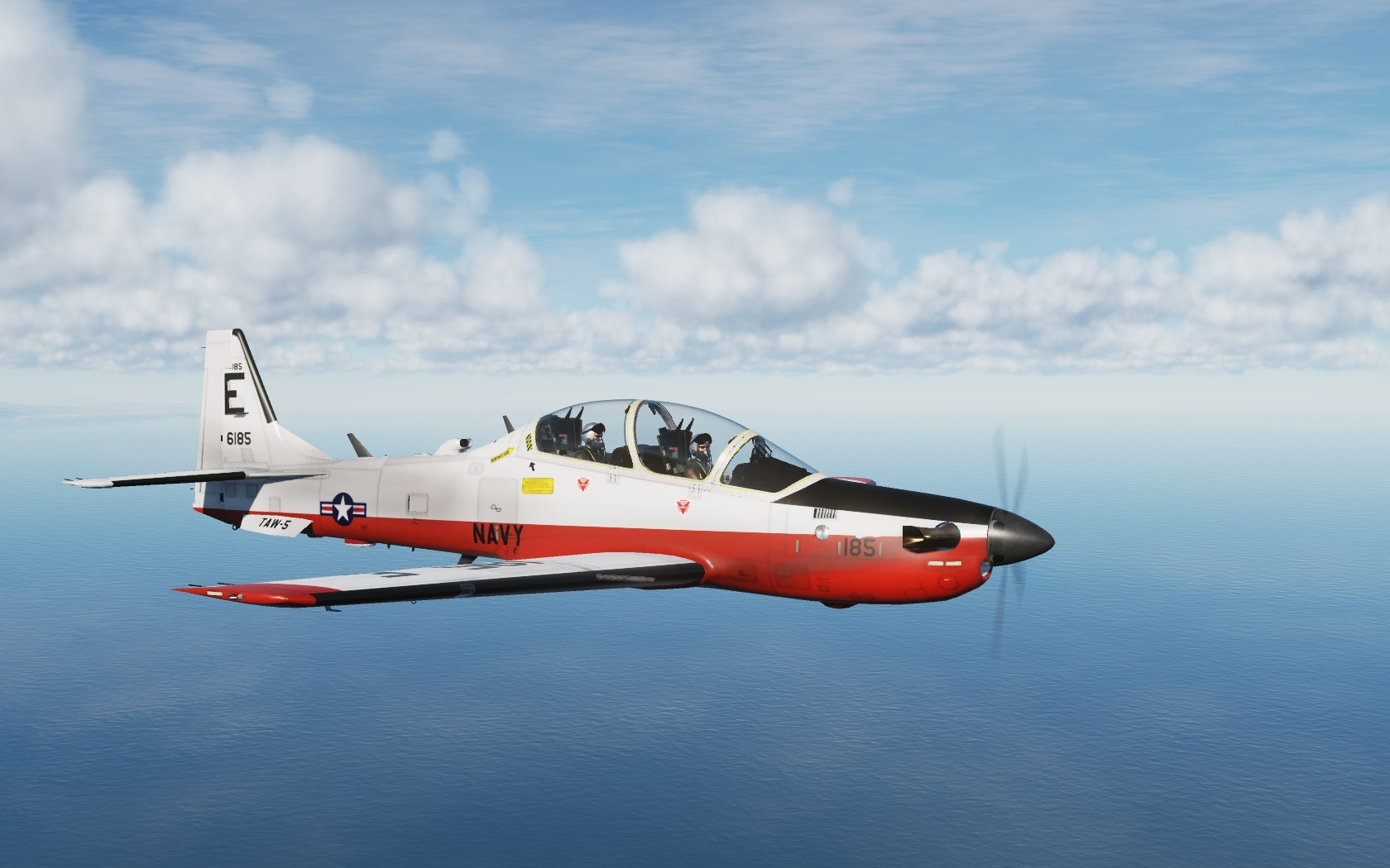 Ficticional T6-B Texan II US NAVY for A29b Tucano Mod