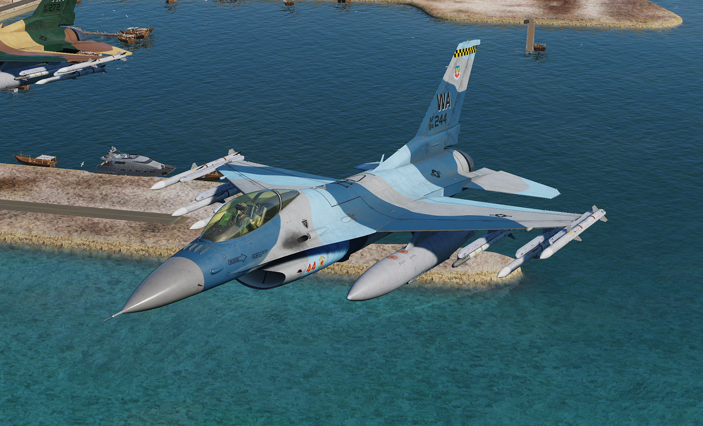 F-16C - 64th Aggressor Squadron 'Flanker'