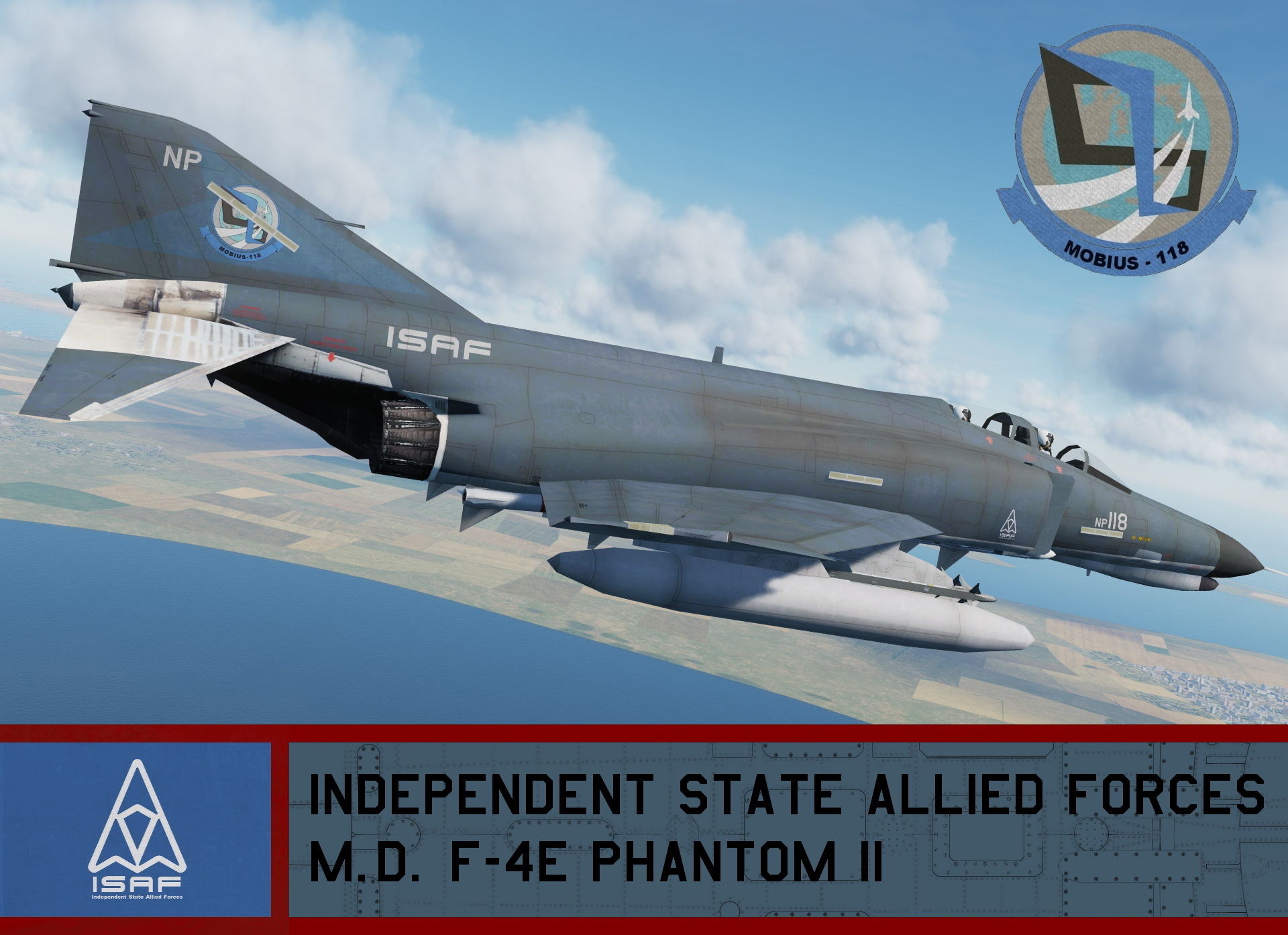 Independent State Allied Forces F-4E - Ace Combat 4 (Mobius One) *UPDATED*