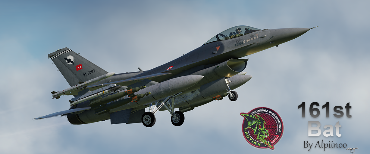 Turkish Air Force (TurAf) F-16C - 161st Bat (NEW UPDATE)