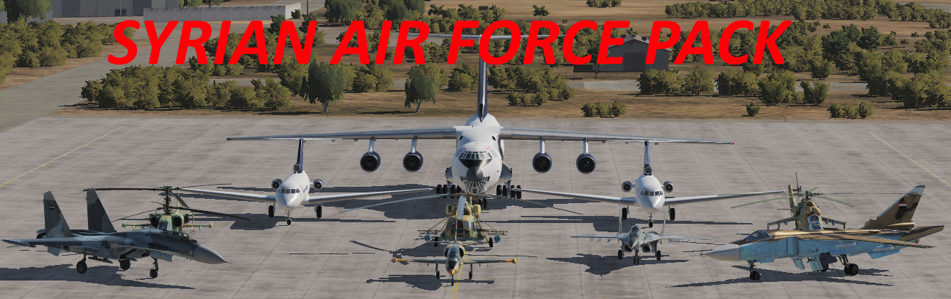 Syrian Arab Air force Pack *Updated 11/09/2020*