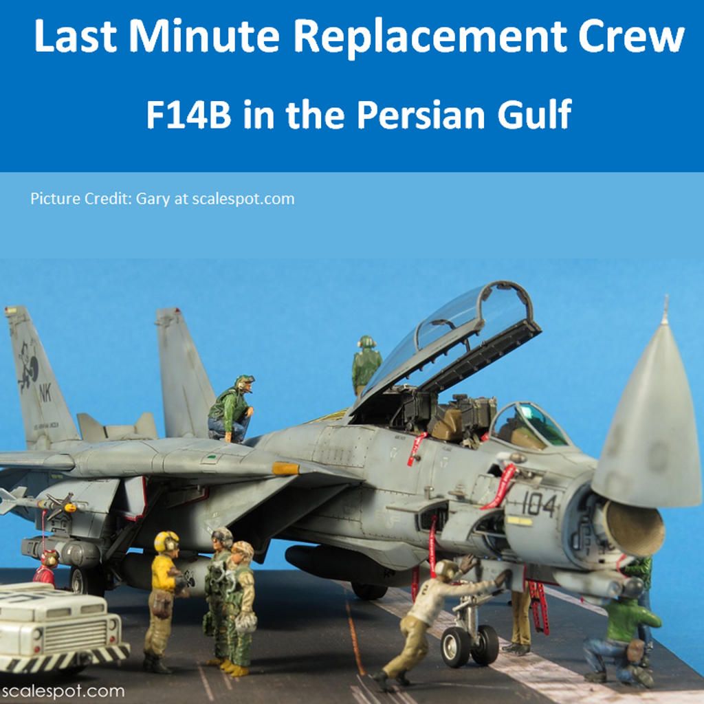 Last Minute Replacement Crew – F14B Persian Gulf