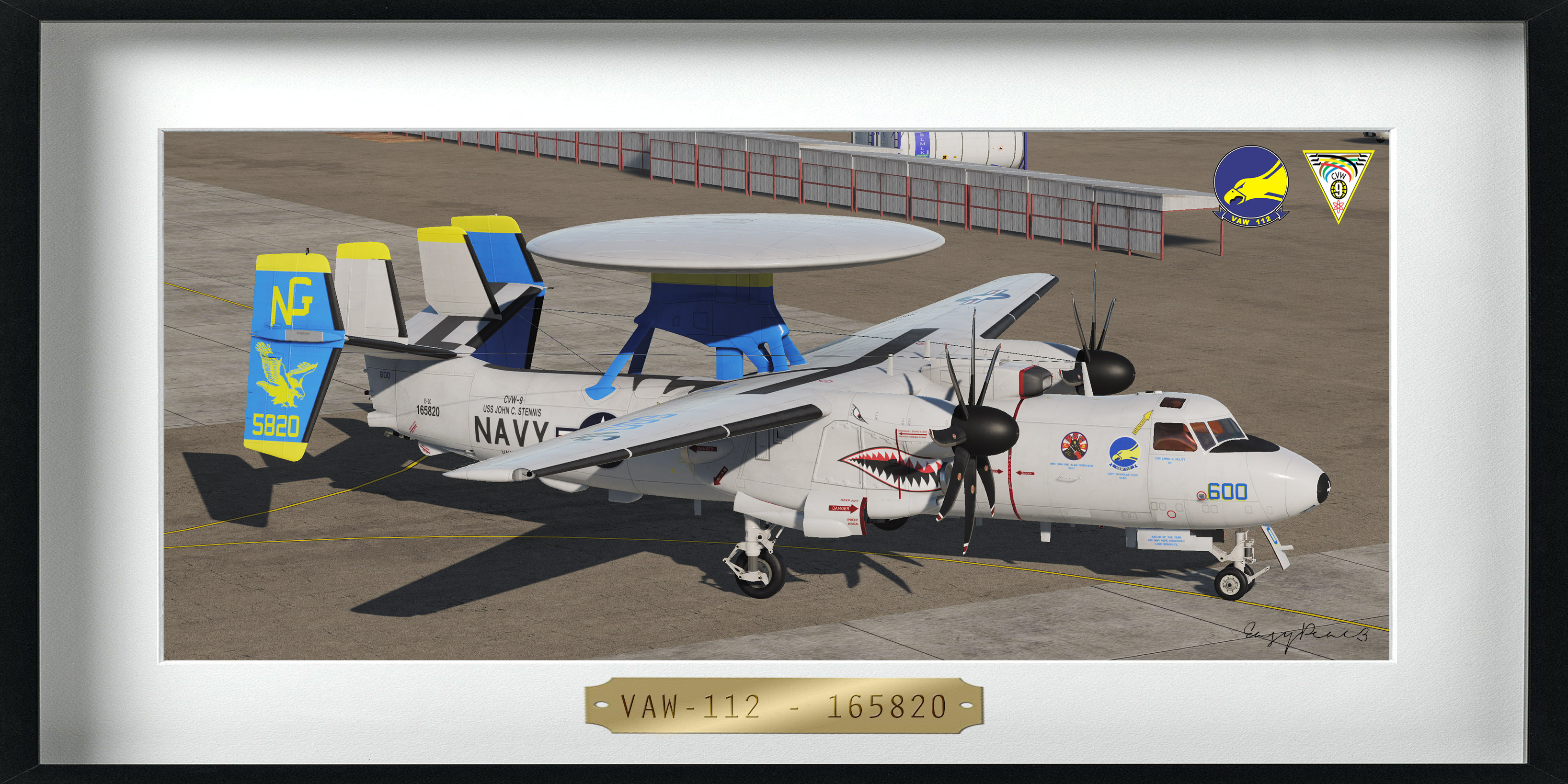 "VAW-112 - ""Golden Hawks"" - 165820 (4K)"