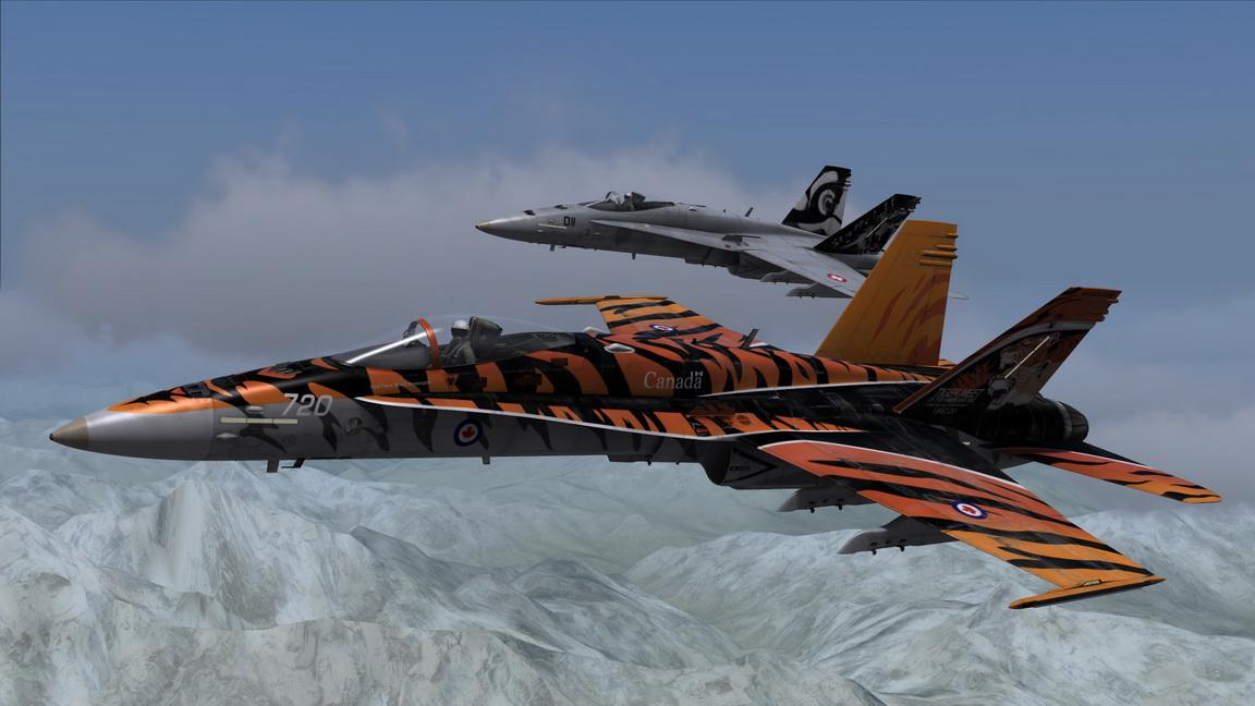 F/A-18C Tiger Meet Pack