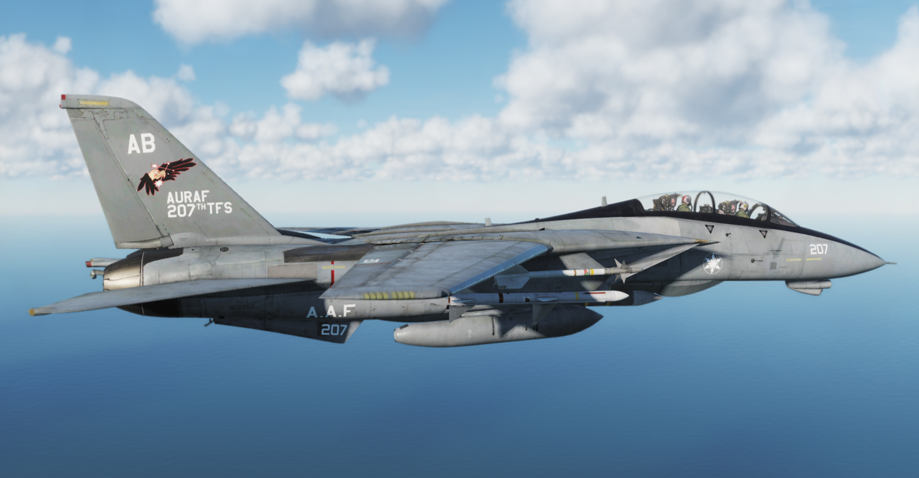 Ace Combat - F-14B Gryphus One skin from Ace Combat X: Skies of Deception