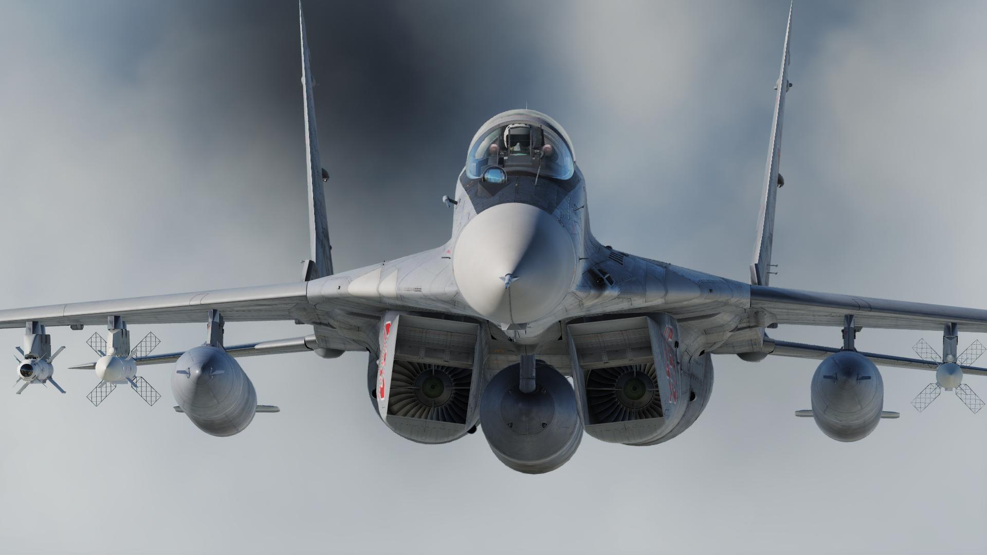 Обои крылатая машина, освещение, ввс, боевой самолет. Авиация