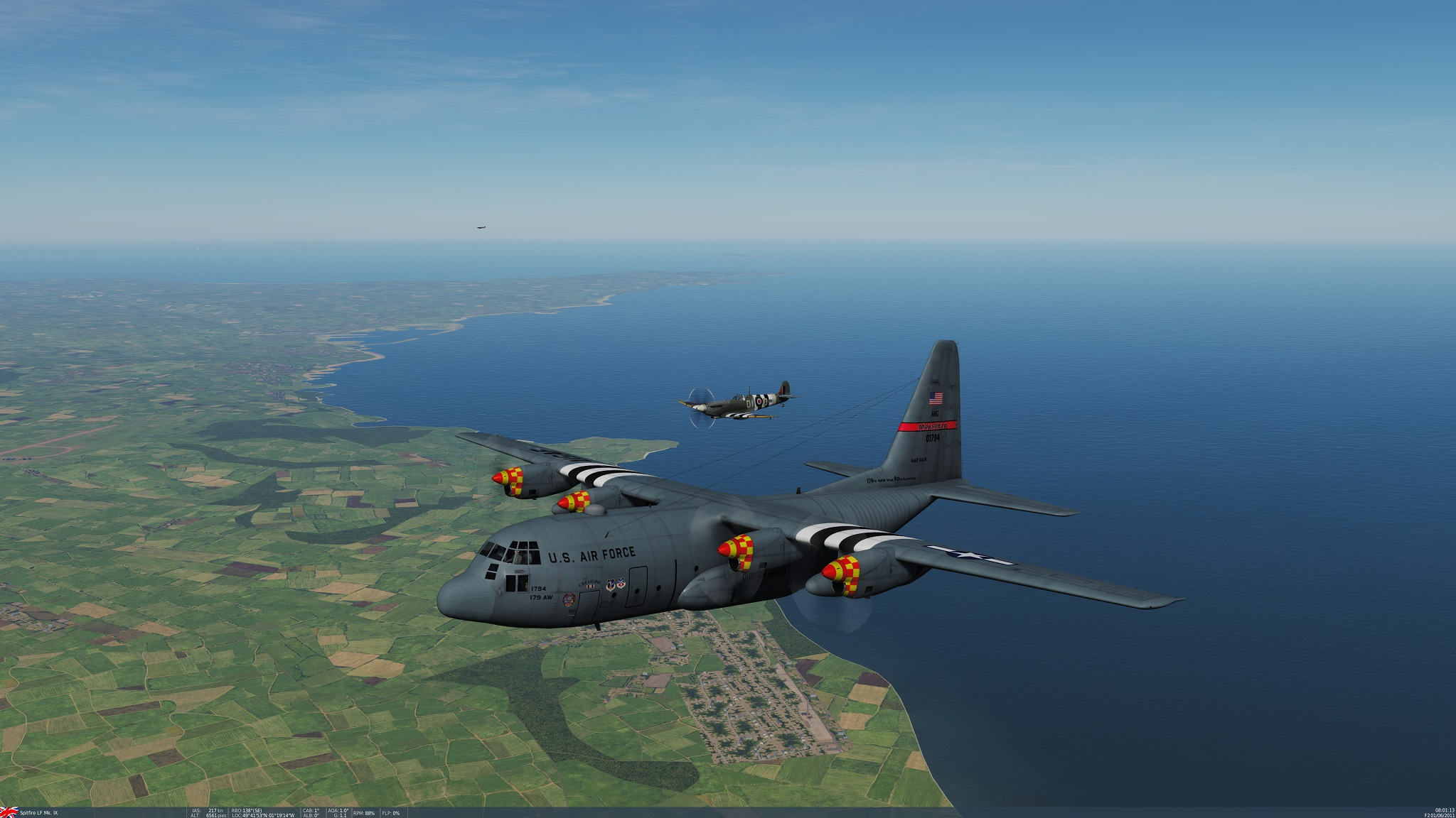 "C-130H Hercules, 179th Airlift Wing ""60th Anniversary"""