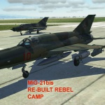MiG-21bis Rebel Camp Re-Built SP A2G Mission