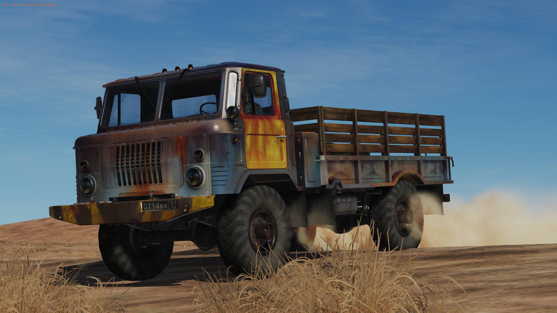 Rusty Gaz-66 Liveries