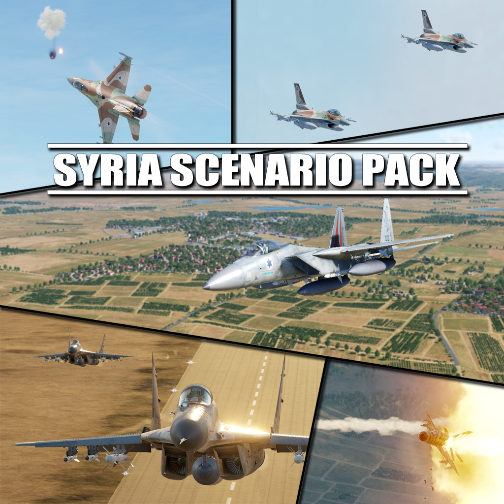 Syria Scenario Pack by Kaba - 25/09/2020: New mission added!