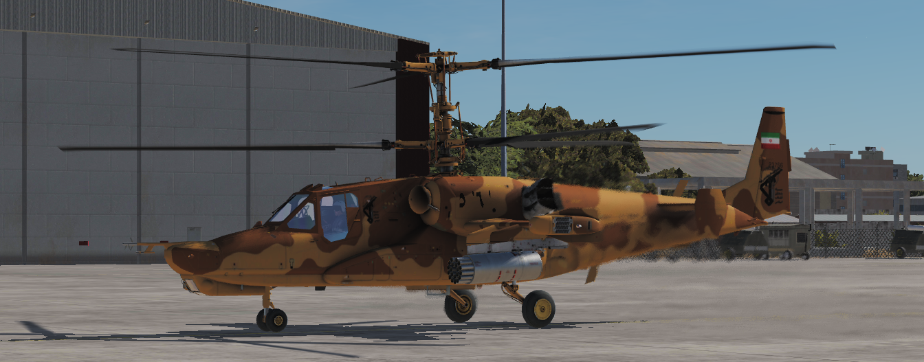 Iranian KA-50 (FICTIONAL) *updated 20/01/2019