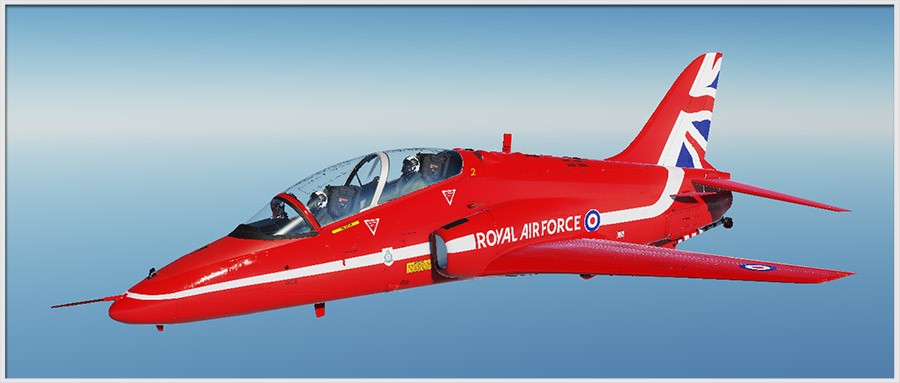 Red Arrows Display Livery for T-45 Goshawk