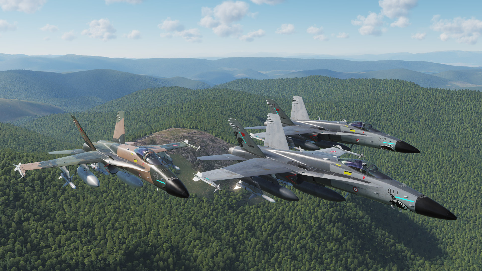 F/A-18C Hornet - Turkish Air Force Fictional