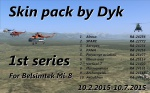 Mi-8 Skin pack by Dyk - 1st series