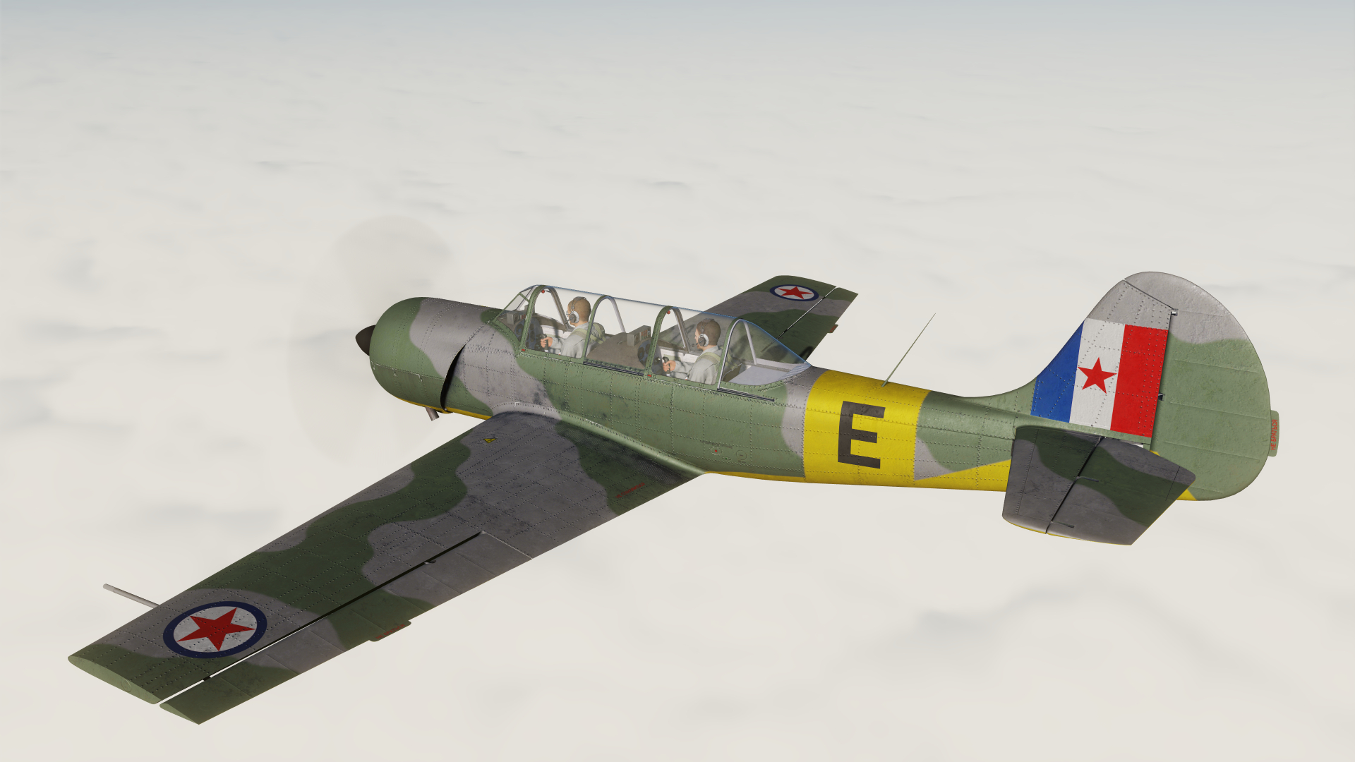 "Yak-52 Yugoslavian Air Force Harvard Mk IIb ""E"" KF 305"