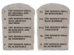The 10 Commandments of Mission Design