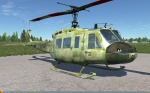 UH-1H Huey - FAMET Virtual - Hexacamo Digital Forest (Fictional)