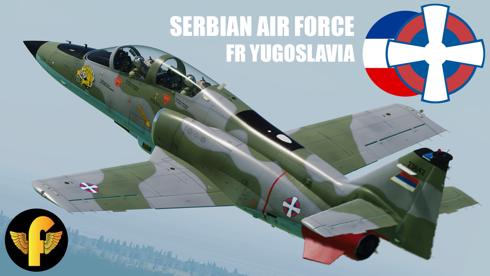 C-101CC/EB Serbian Air Force / FR Yugoslavia 241. lbae Fictive #1