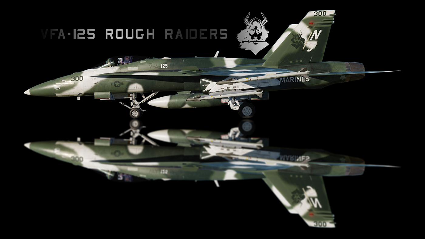 F/A-18B Hornet - VFA-125 Rough Raiders CAG