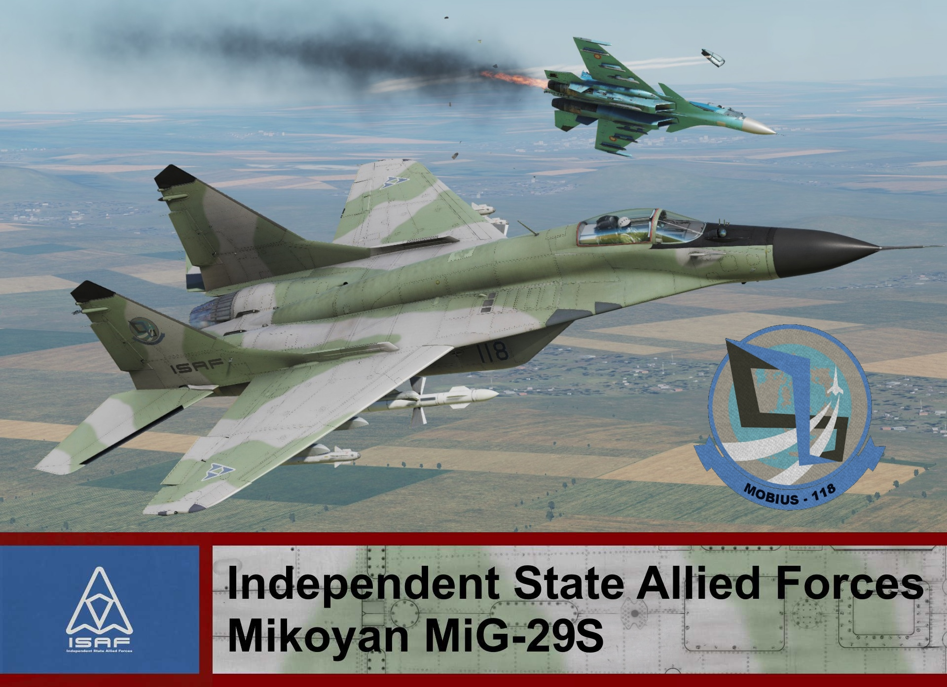 Independent State Allied Forces Mig-29S - Ace Combat 4 (Mobius One)