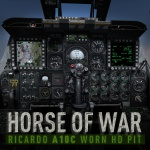 "DCS: A-10C Warthog RICARDO's ""Horse of War"" HD Worn Cockpit Mod"