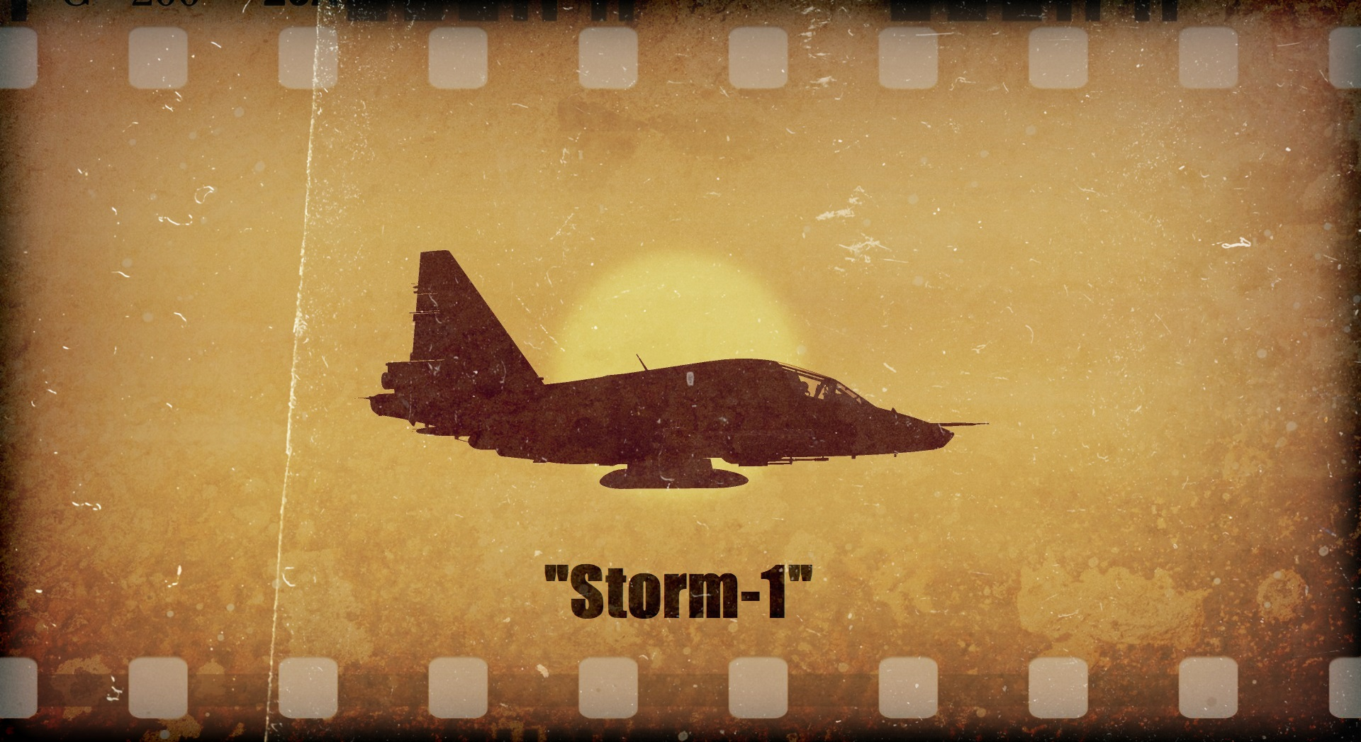 "The single mission ""Storm-1"" for the Su-25T"