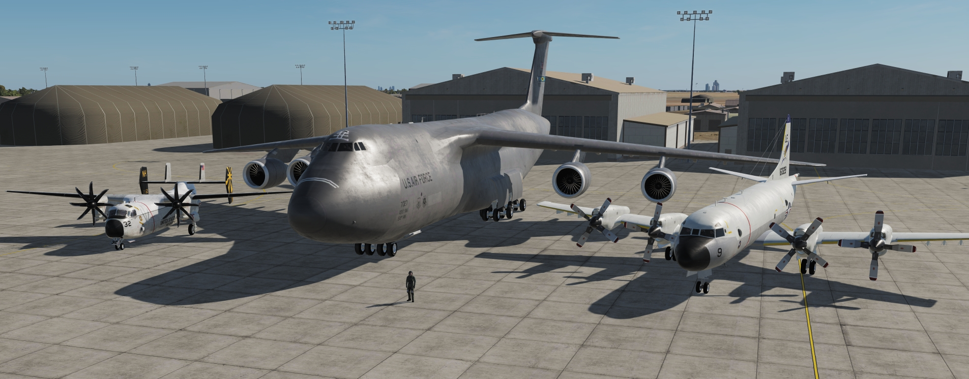 Military Aircraft Mod 1