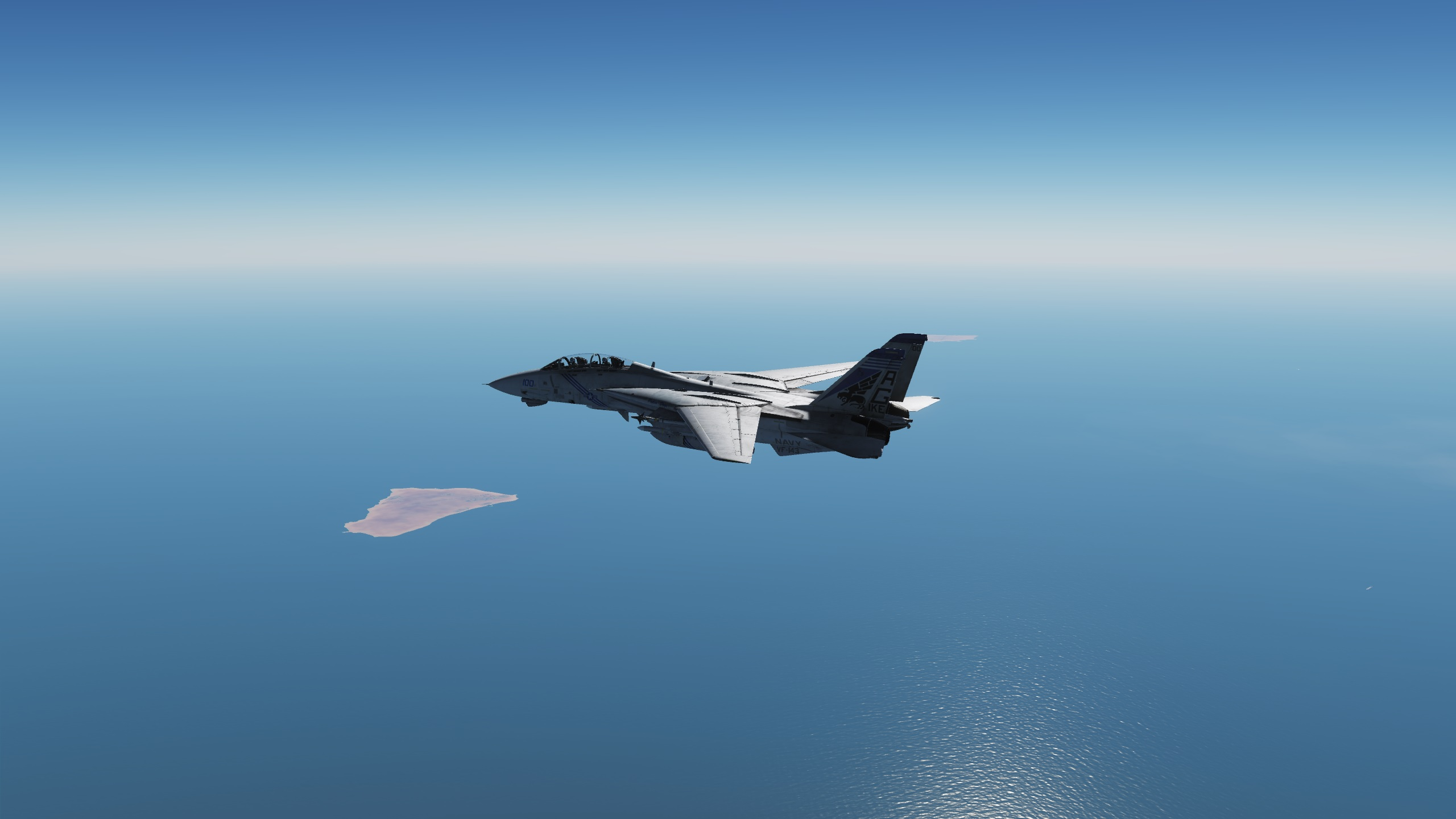 F-14B Hormuz Island Dispute CAP Supercarrier Version