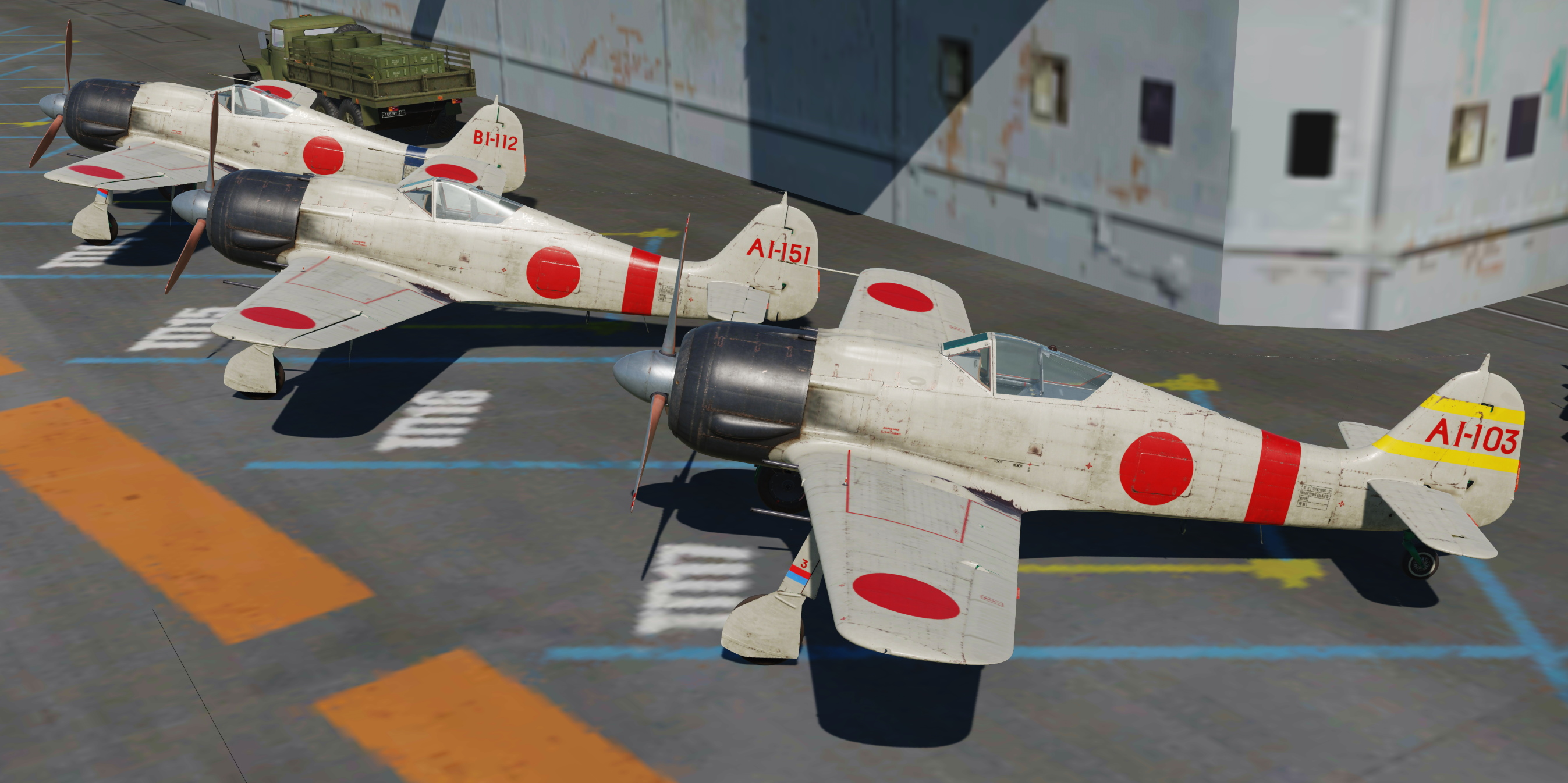 [Fw-190A-8] Fictional Imperial Japanese Skin Pack v4