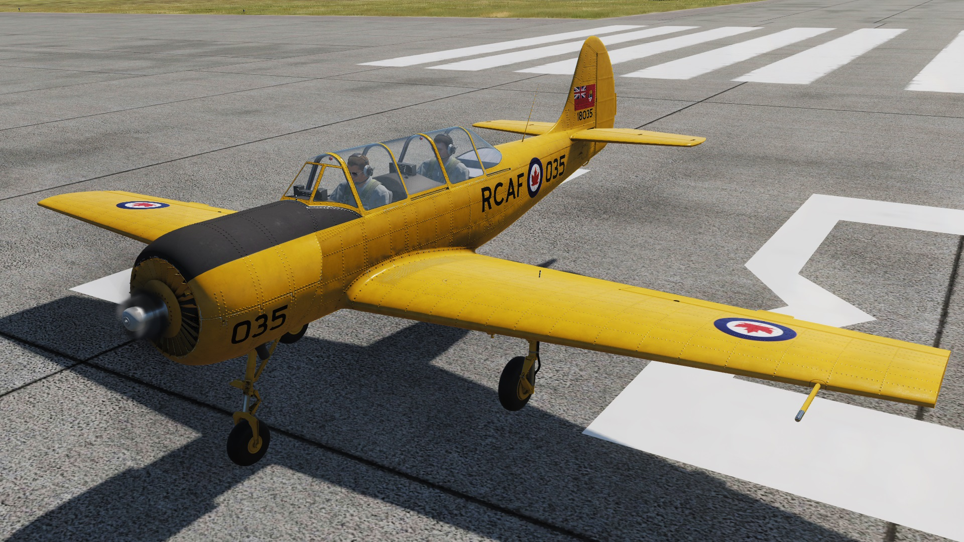 RCAF Fictional Yak-52 Livery